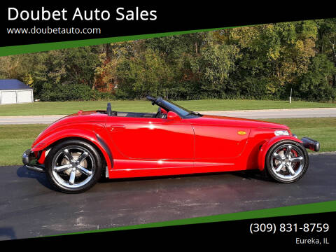 1999 Plymouth Prowler for sale at Doubet Auto Sales in Eureka IL