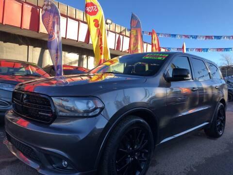 2015 Dodge Durango for sale at Duke City Auto LLC in Gallup NM