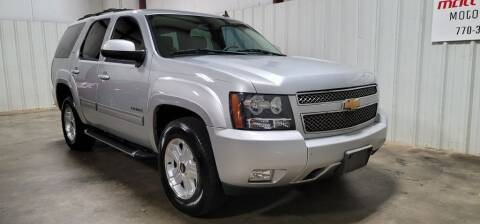 2012 Chevrolet Tahoe for sale at Matt Jones Motorsports in Cartersville GA