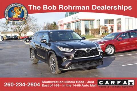 2020 Toyota Highlander for sale at BOB ROHRMAN FORT WAYNE TOYOTA in Fort Wayne IN