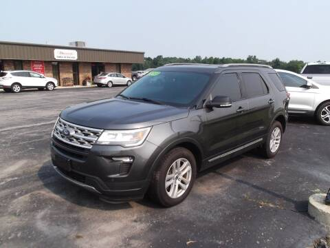 2018 Ford Explorer for sale at Dietsch Sales & Svc Inc in Edgerton OH