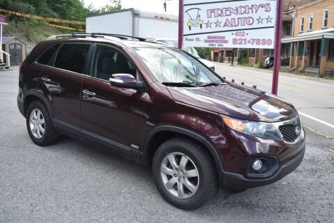 2013 Kia Sorento for sale at Frenchy's Auto LLC. in Pittsburgh PA