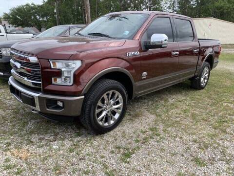 2016 Ford F-150 for sale at CROWN  DODGE CHRYSLER JEEP RAM FIAT in Pascagoula MS
