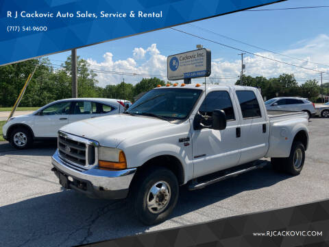 2000 Ford F-350 Super Duty for sale at R J Cackovic Auto Sales, Service & Rental in Harrisburg PA