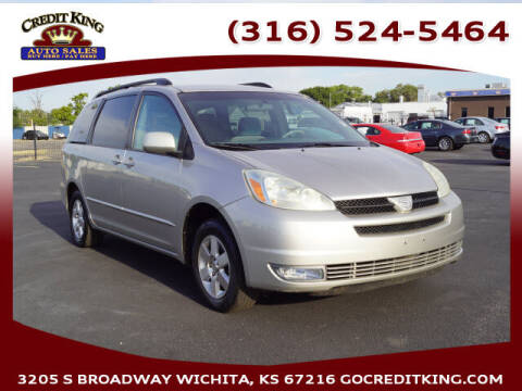 2005 Toyota Sienna for sale at Credit King Auto Sales in Wichita KS