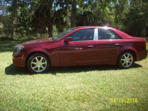 2003 Cadillac CTS for sale at Bargain Auto Mart Inc. in Kenneth City FL
