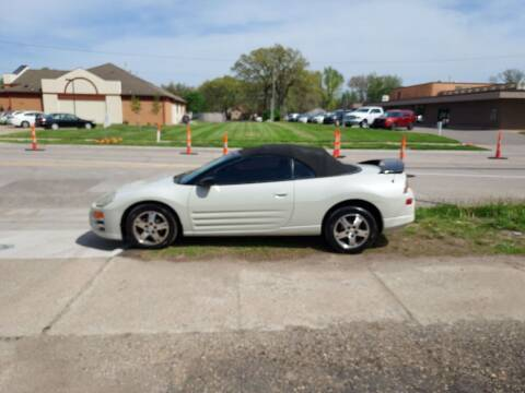 2004 Mitsubishi Eclipse Spyder for sale at D & D Auto Sales in Topeka KS