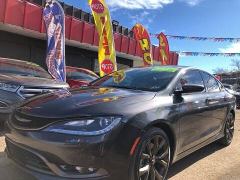 2017 Chrysler 200 for sale at Duke City Auto LLC in Gallup NM