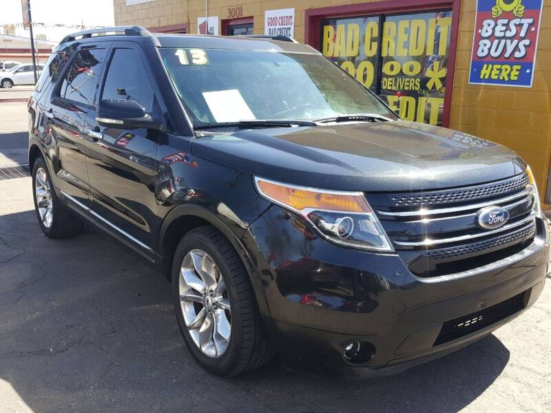 2013 Ford Explorer for sale at Sunday Car Company LLC in Phoenix AZ