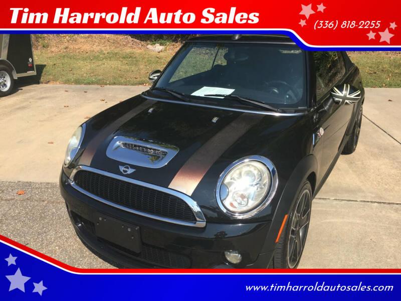 2009 MINI Cooper for sale at Tim Harrold Auto Sales in Wilkesboro NC