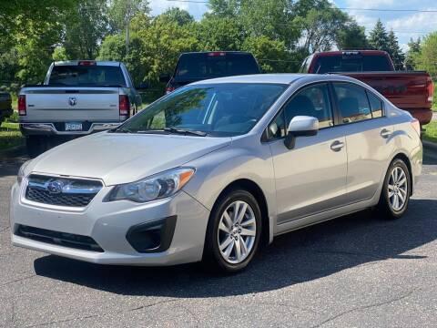 2013 Subaru Impreza for sale at North Imports LLC in Burnsville MN