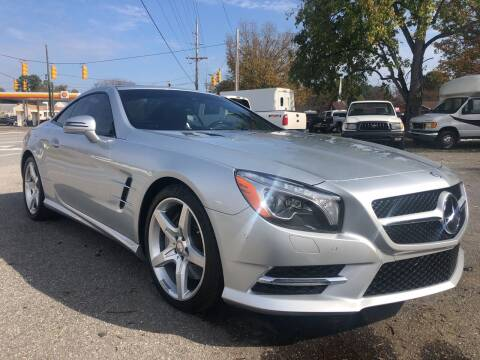 2013 Mercedes-Benz SL-Class for sale at Creekside Automotive in Lexington NC