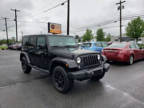 2014 Jeep Wrangler Unlimited for sale at Cars 4 Grab in Winchester VA