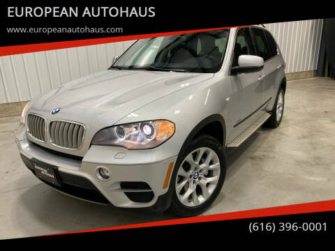 2013 BMW X5 for sale at EUROPEAN AUTOHAUS in Holland MI