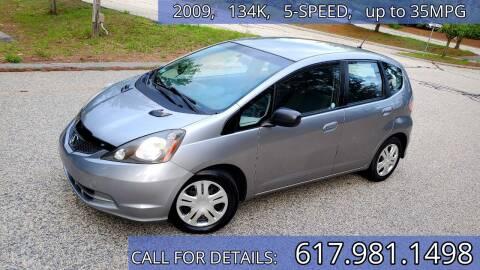 2009 Honda Fit for sale at Wheeler Dealer Inc. in Acton MA