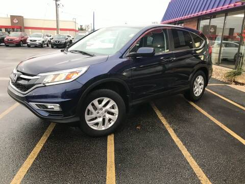 2015 Honda CR-V for sale at CITY SELECT MOTORS in Galesburg IL