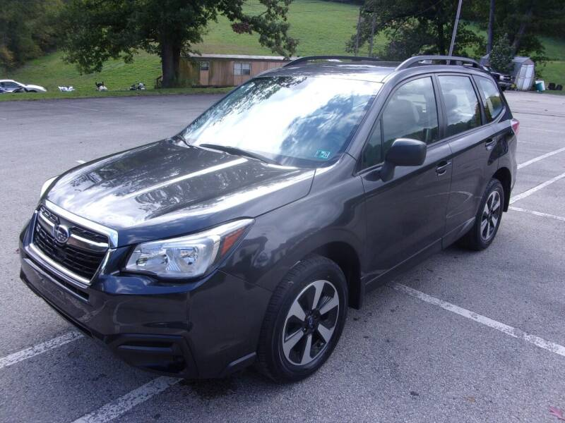 2017 Subaru Forester for sale at Pyles Auto Sales in Kittanning PA