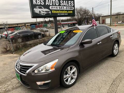 2014 Nissan Altima for sale at KBS Auto Sales in Cincinnati OH