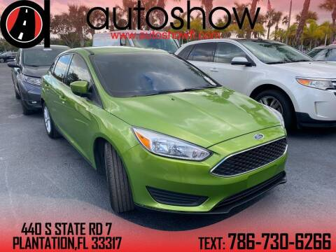 2018 Ford Focus for sale at AUTOSHOW SALES & SERVICE in Plantation FL