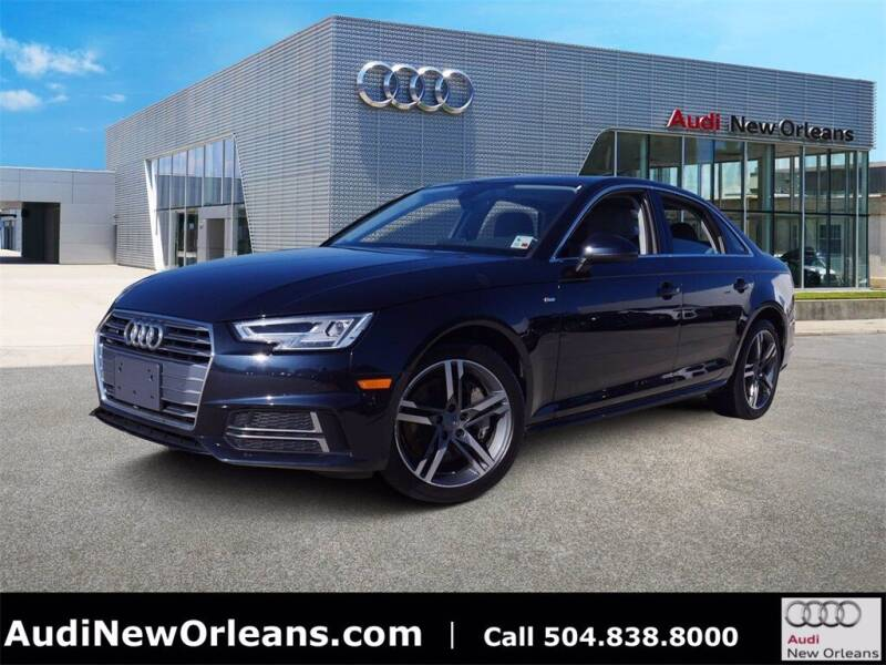 2018 Audi A4 for sale at Metairie Preowned Superstore in Metairie LA