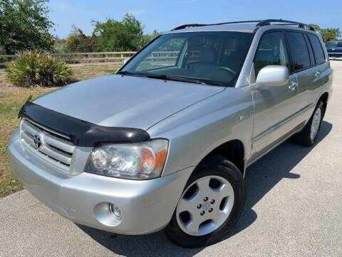 2006 Toyota Highlander for sale at Deerfield Automall in Deerfield Beach FL