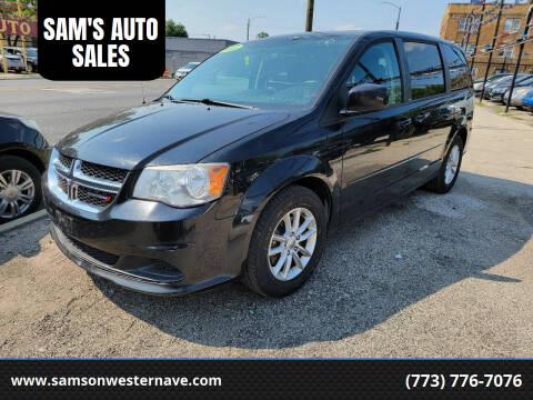 2013 Dodge Grand Caravan for sale at SAM'S AUTO SALES in Chicago IL
