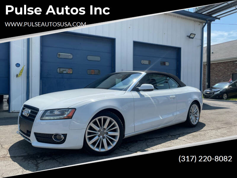 2012 Audi A5 for sale at Pulse Autos Inc in Indianapolis IN