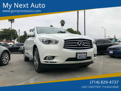 2014 Infiniti QX60 Hybrid for sale at My Next Auto in Anaheim CA