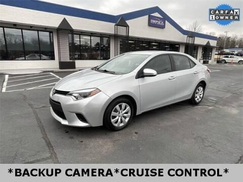 2014 Toyota Corolla for sale at Impex Auto Sales in Greensboro NC