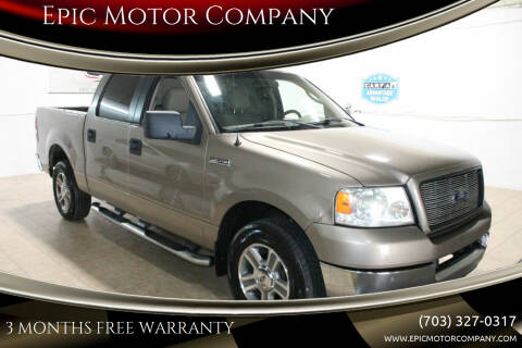 2005 Ford F-150 for sale at Epic Motor Company in Chantilly VA