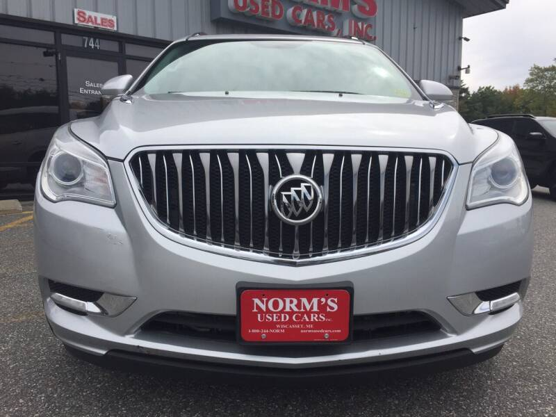 2015 Buick Enclave for sale at Norm's Used Cars INC. - Trucks By Norm's in Wiscasset ME