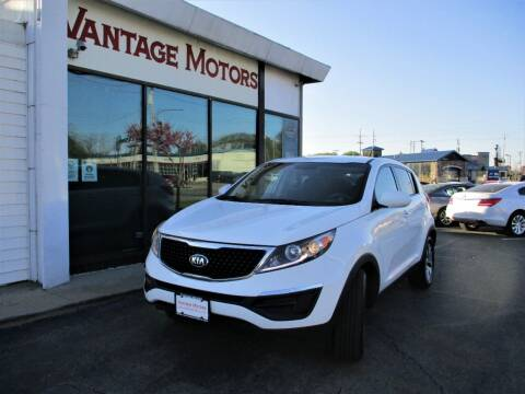 2016 Kia Sportage for sale at Vantage Motors LLC in Raytown MO