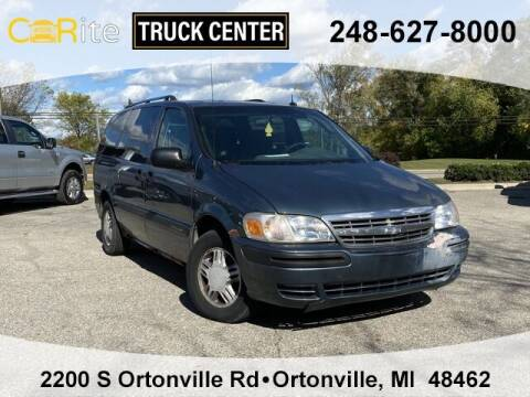 2004 Chevrolet Venture for sale at Carite Truck Center in Ortonville MI