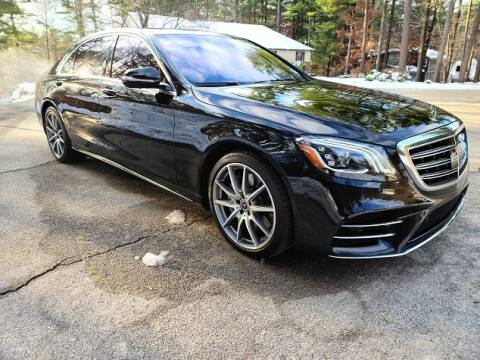2018 Mercedes-Benz S-Class for sale at CJ Clark's New England Motor Car Company in Hudson NH