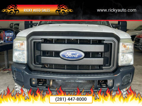 2011 Ford F-250 Super Duty for sale at Ricky Auto Sales in Houston TX