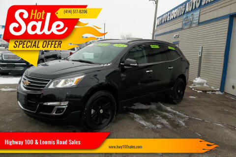 2015 Chevrolet Traverse for sale at Highway 100 & Loomis Road Sales in Franklin WI