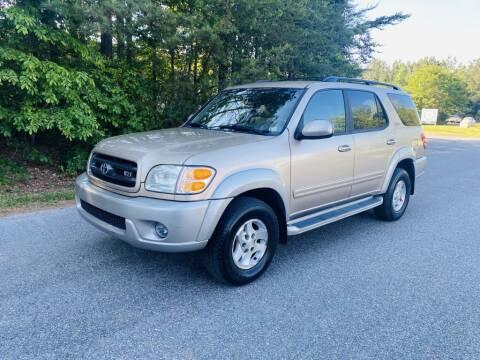 2003 Toyota Sequoia for sale at H&C Auto in Oilville VA