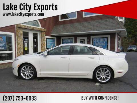 2015 Lincoln MKZ for sale at Lake City Exports in Auburn ME