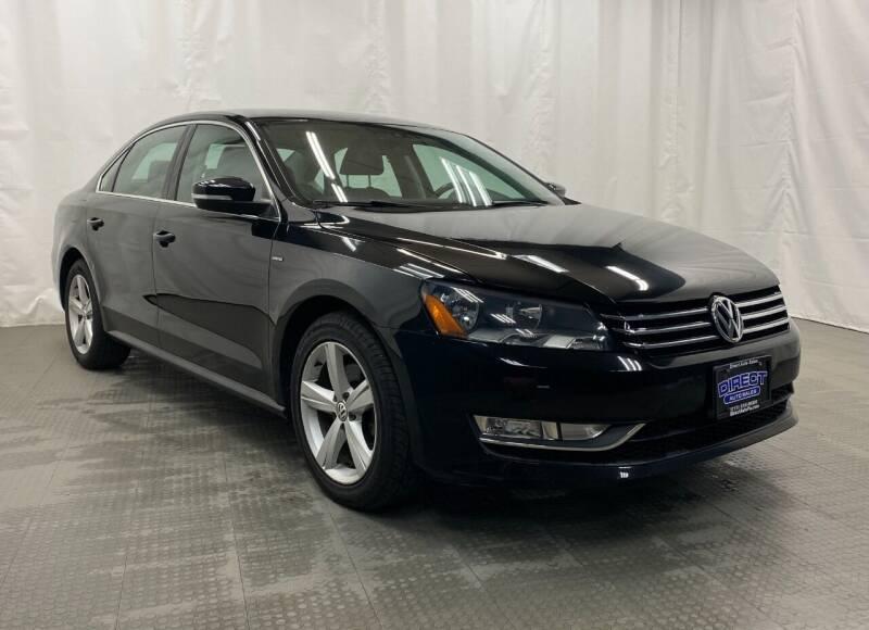 2015 Volkswagen Passat for sale at Direct Auto Sales in Philadelphia PA