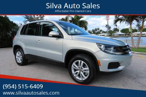2013 Volkswagen Tiguan for sale at Silva Auto Sales in Pompano Beach FL