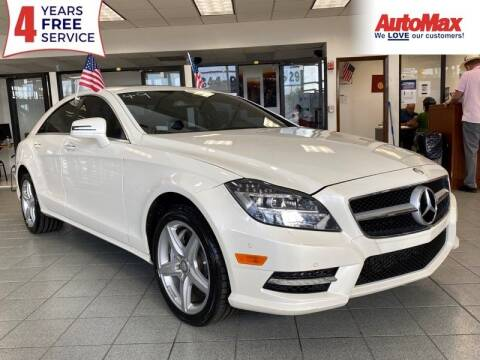 2014 Mercedes-Benz CLS for sale at Auto Max in Hollywood FL