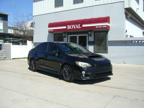 2015 Subaru WRX for sale at Royal Auto Inc in Murray UT