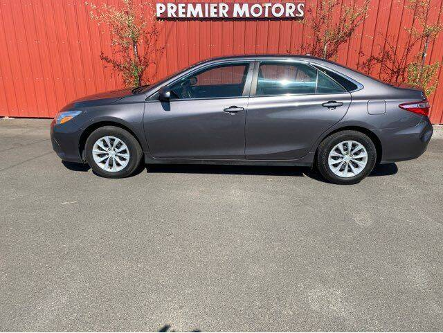 2016 Toyota Camry for sale at PREMIERMOTORS  INC. in Milton Freewater OR