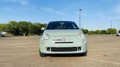 2012 FIAT 500 for sale at MAGNA CUM LAUDE AUTO COMPANY in Lubbock TX