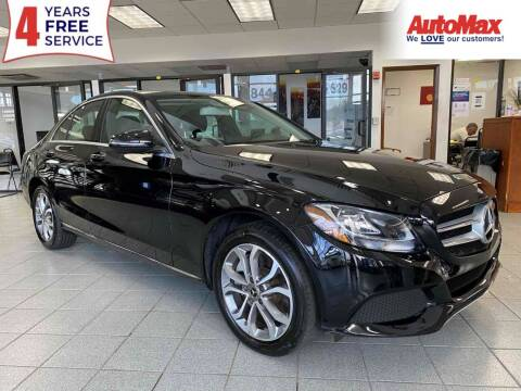 2018 Mercedes-Benz C-Class for sale at Auto Max in Hollywood FL