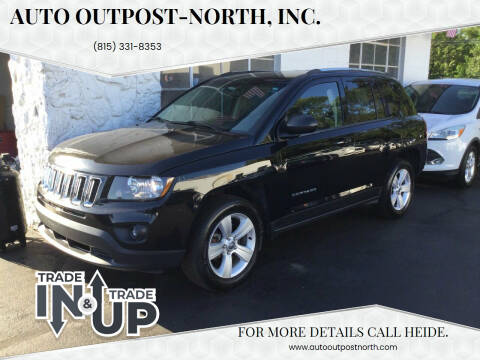 2015 Jeep Compass for sale at Auto Outpost-North, Inc. in McHenry IL