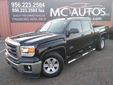 2014 GMC Sierra 1500 for sale at MC Autos LLC in Pharr TX