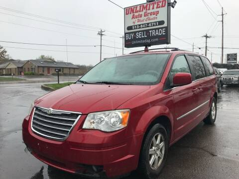 2010 Chrysler Town and Country for sale at Unlimited Auto Group in West Chester OH