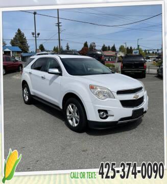 2010 Chevrolet Equinox for sale at Corn Motors in Everett WA