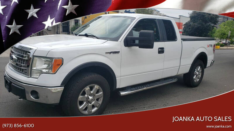 2013 Ford F-150 for sale at JOANKA AUTO SALES in Newark NJ
